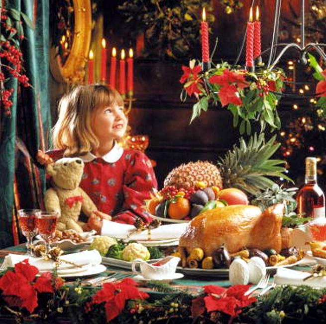 Новогоднее меню для детей