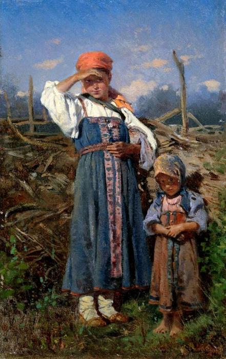 Как растили детей в русских крестьянских семьях в конце XIX – начале ХХ вв.