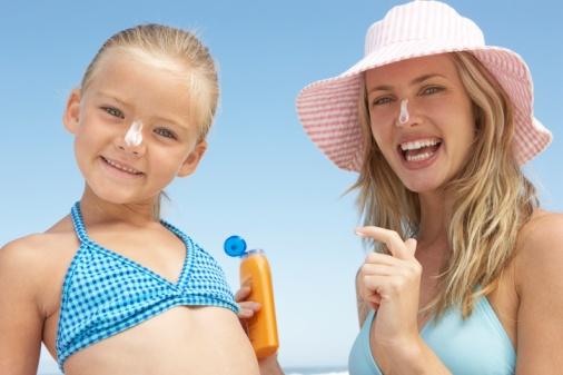 Детский летний отдых: Как правильно загорать?