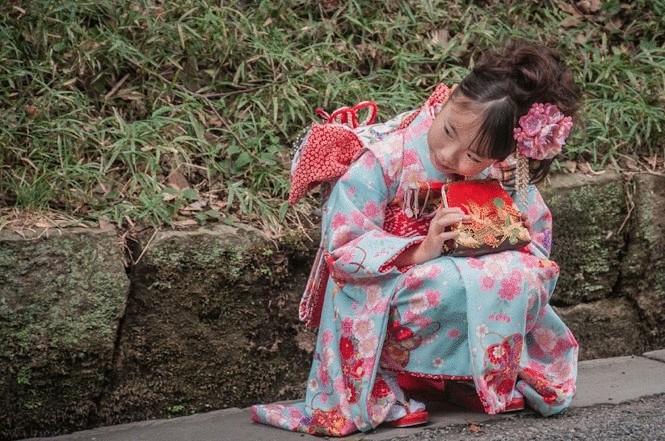 Детский сон по японски