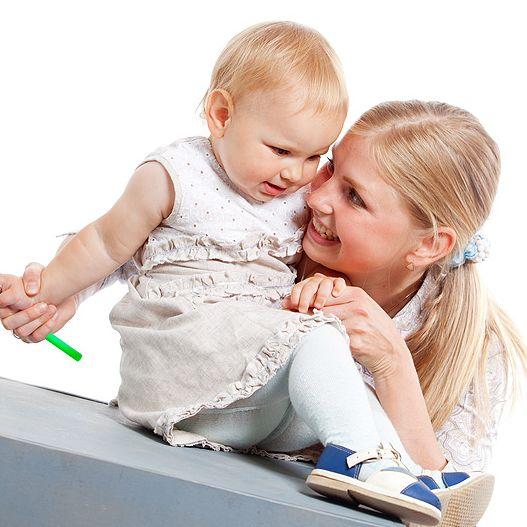 Развиваем между делом или как развивать кроху, когда полно домашних дел?