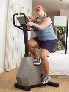 Упражнения на тренажере.