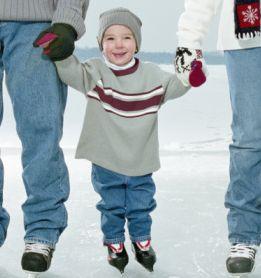 Здоровье ребенка: ставим малыша на коньки