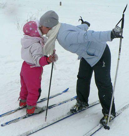 Здоровье ребенка: ставим малыша на лыжи