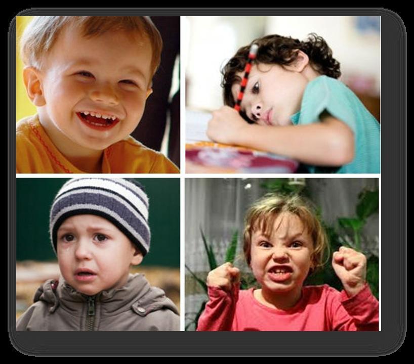 Типы темпераментов маленьких детей