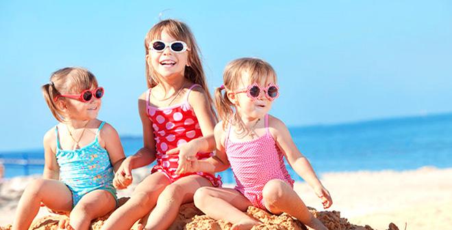 Солнечные очки для малышей