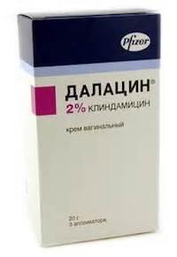 Далацин, инструкция по применению